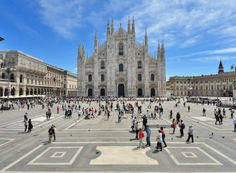 Milan half-day city tour