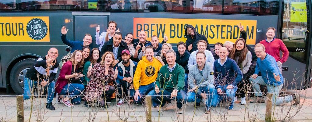 Degustazione di birra e tour del birrificio artigianale ad Amsterdam