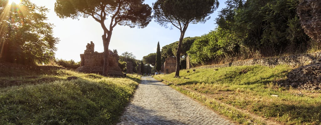Ancient Appia e-bike tour