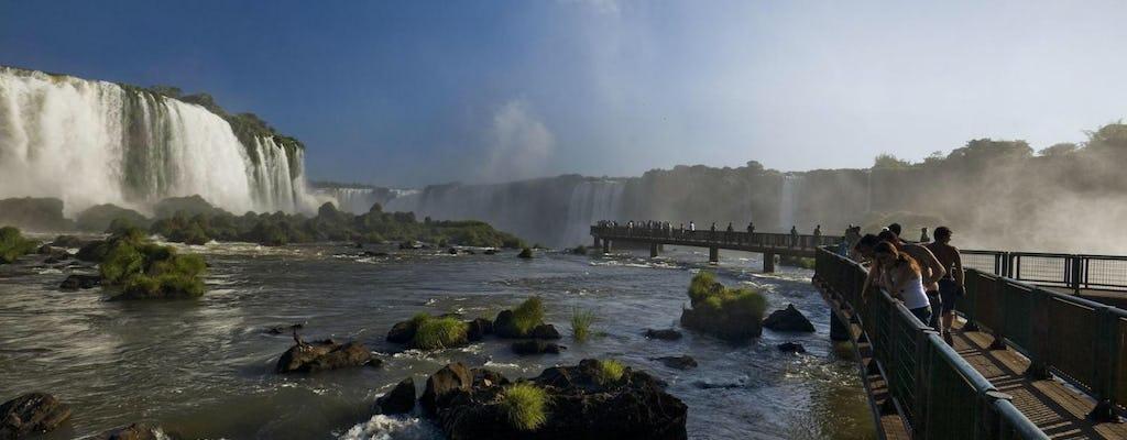Iguassu-watervallen en bezoek aan Itaipu Dam met transfer van en naar de luchthaven