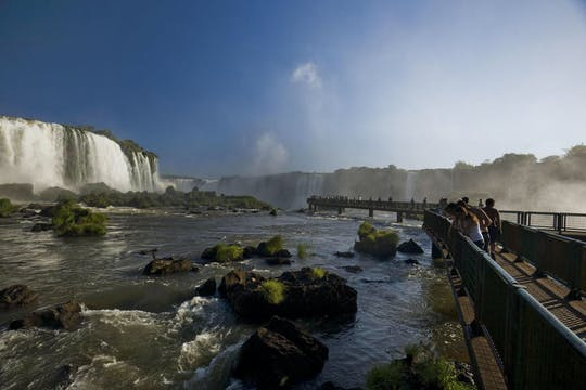 Iguassu waterfalls and visit to Itaipu Dam with airport roundtrip transfer