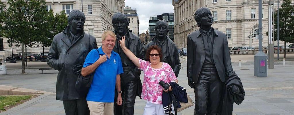 Excursão de 3 horas aos Beatles por Liverpool em táxi particular