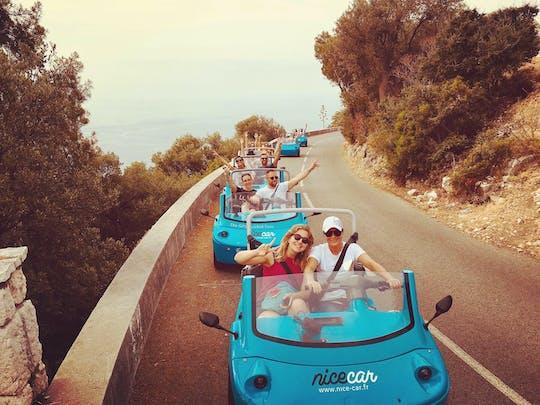 Divertente tour in auto scoperto nella costa azzurra
