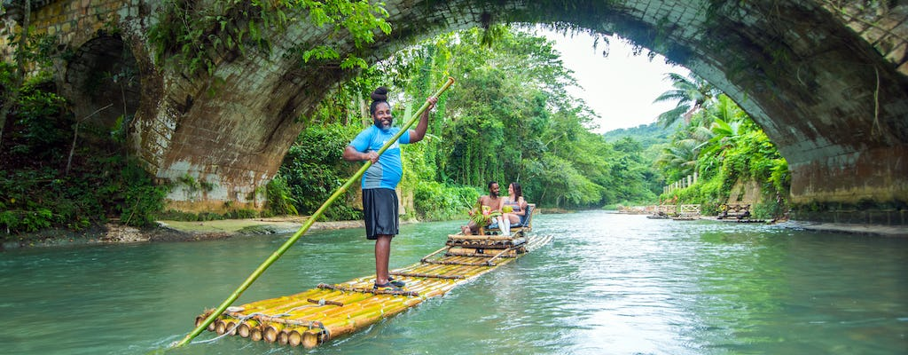 Bamboo Rafting on the Great River
