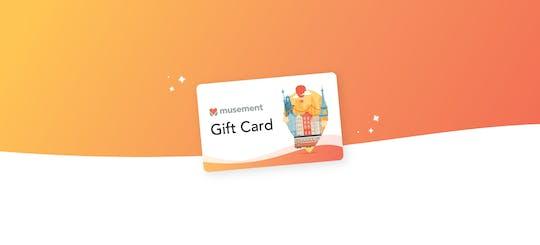 Musement Gift Card