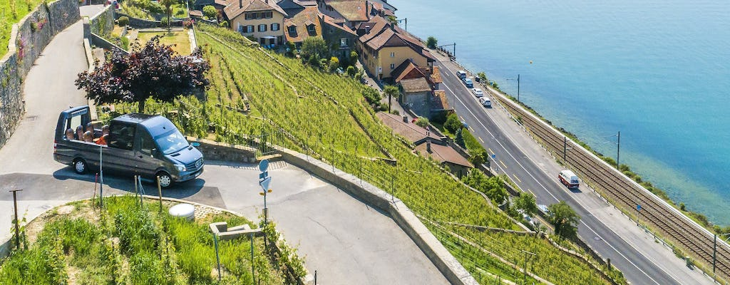 Dinner Tour from Lausanne and Montreux