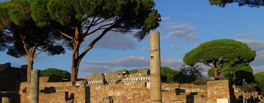 Tour privato a piedi di Ostia Antica