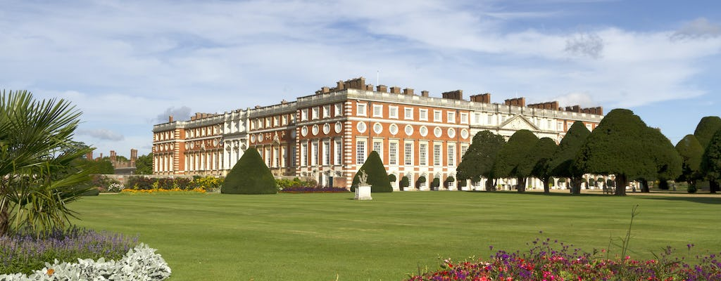 Castelo de Windsor e Hampton Court Palace
