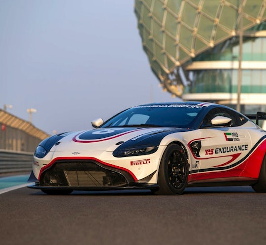 Aston Martin GT4 driving experience