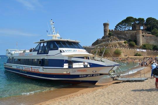 Dofi Jet depuis Tossa de Mar
