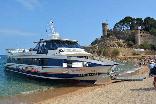 DofiJet Hop-on-Hop-off-Bootsfahrt ab Lloret de Mar