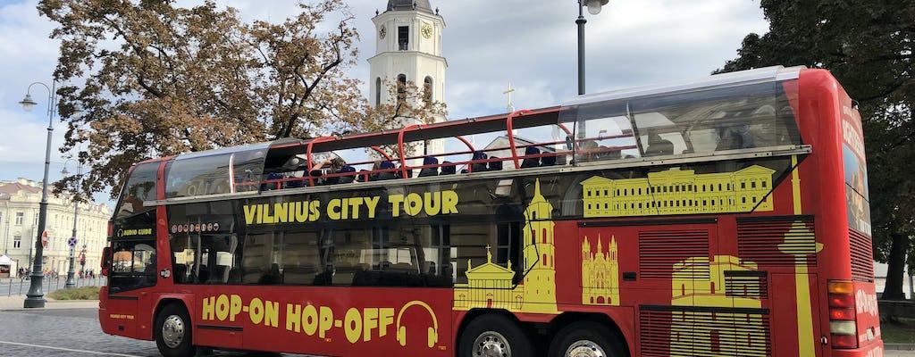 Вильнюс экскурсия по городу хоп-он-хоп-офф