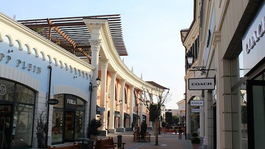 Castel Romano outlet full-day shopping trip