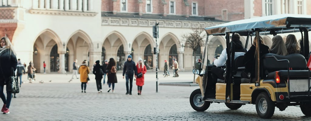 Krakow sightseeing by eco-vehicle in small group