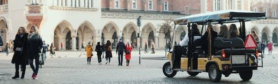 Visita di Cracovia in eco-veicolo in piccoli gruppi