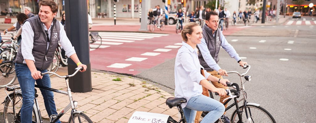 Rotterdam Bike and Dine private food tour