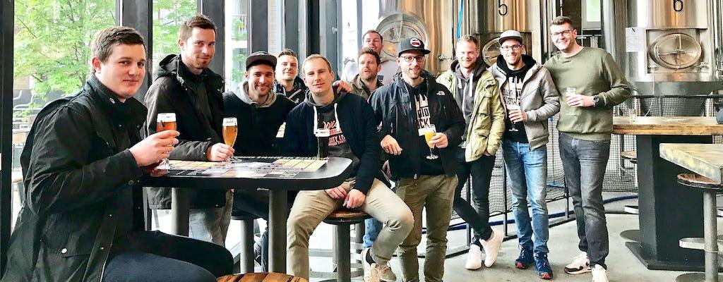 Passeio de barco e cervejas em Roterdã