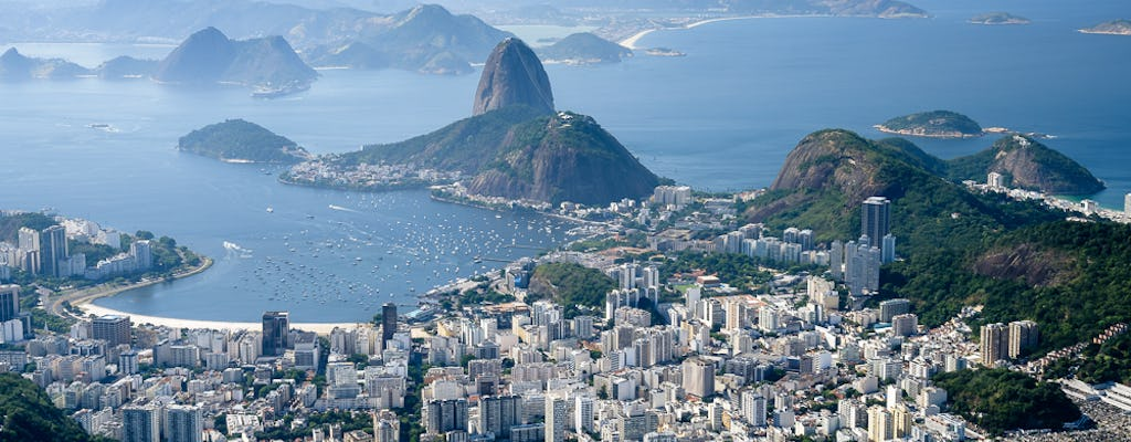 Rio full-day tour with Christ the Redeemer by train, Sugarloaf, Maracana, Sambadrome, cathedral, Selaron, and lunch
