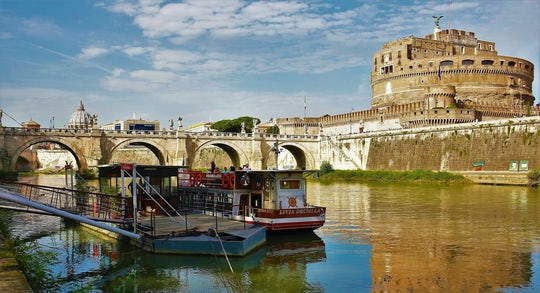 Tiber cruise 24-hour hop-on hop-off