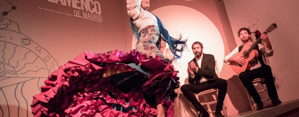 Traditional flamenco show in Madrid