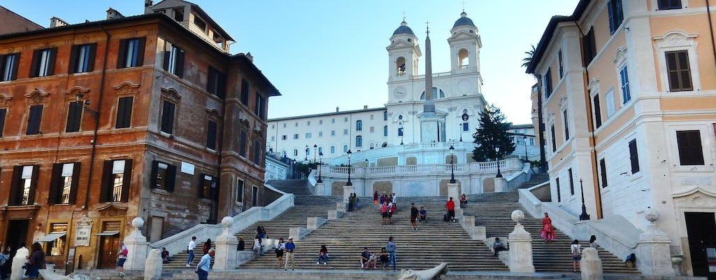 Recorrido a pie con crucero por el Tíber y degustación de comida en Trastevere