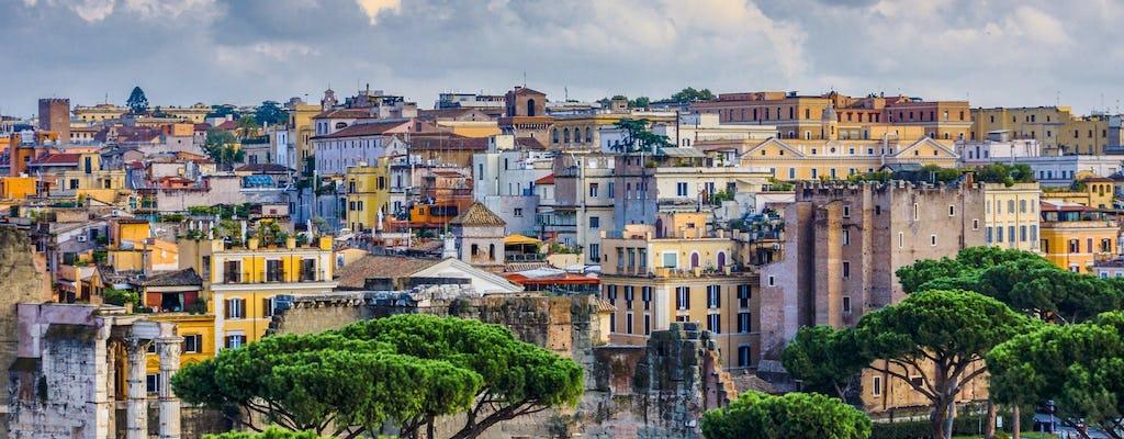 Rome belicht wandeltocht met kleine groepen