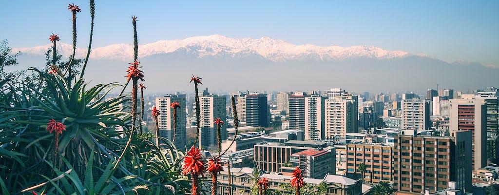 Santiago city tour and Santa Lucía hill