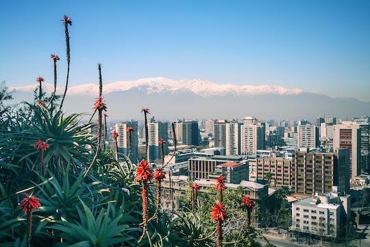 Wycieczka po mieście Santiago i wzgórze Santa Lucía