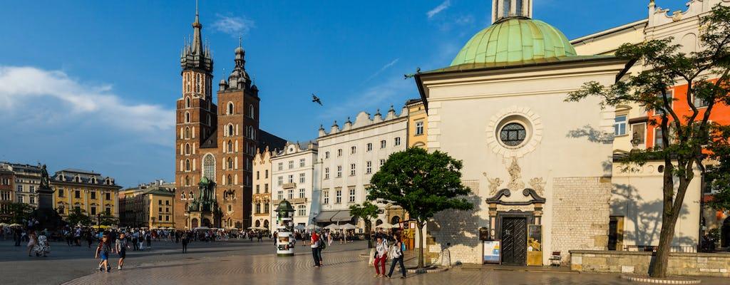 Visite guidée à pied de la vieille ville de Cracovie