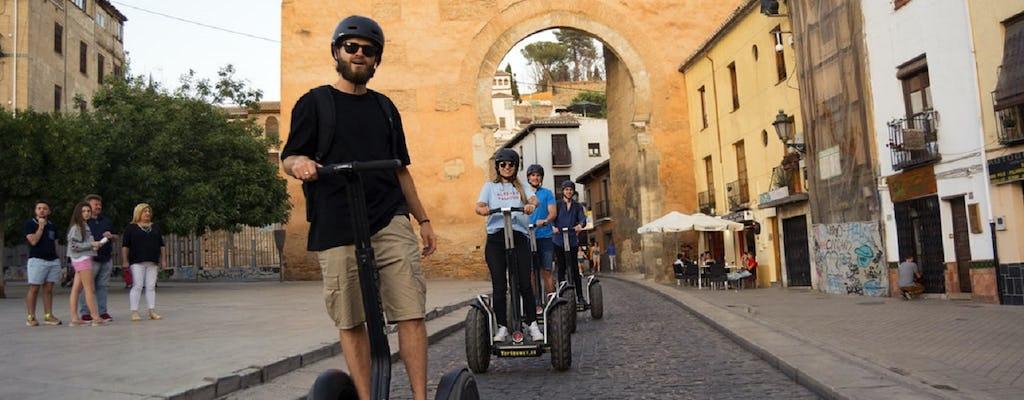 Historical Granada self-balancing  scooter tour