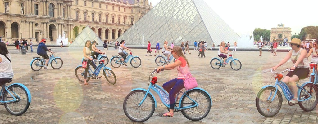 Best of Paris guided bike tour