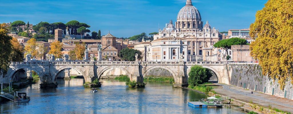 Customized self-balancing scooter tour of Rome