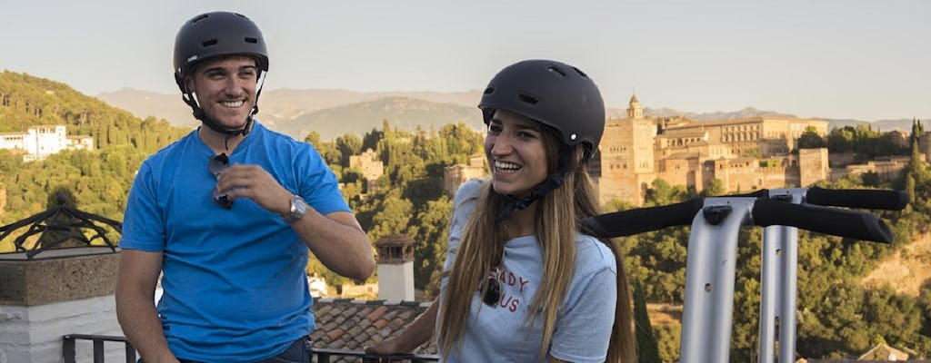 Granada panoramic self-balancing  scooter tour