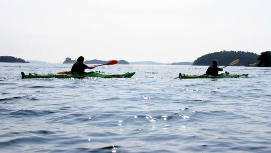 Enjoy Stockholm Archipelago by kayak