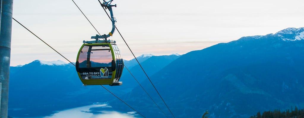Squamish Sea to Sky Gondola tickets