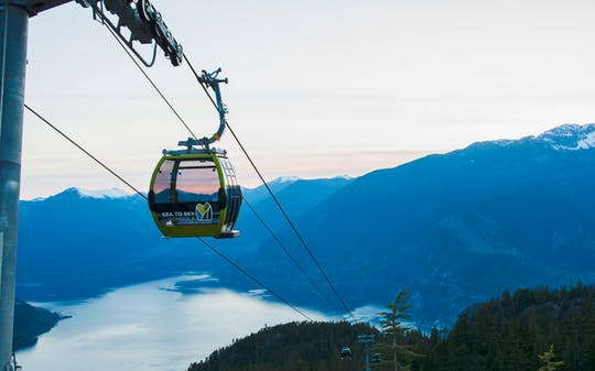 Squamish Sea to Sky Gondola tickets