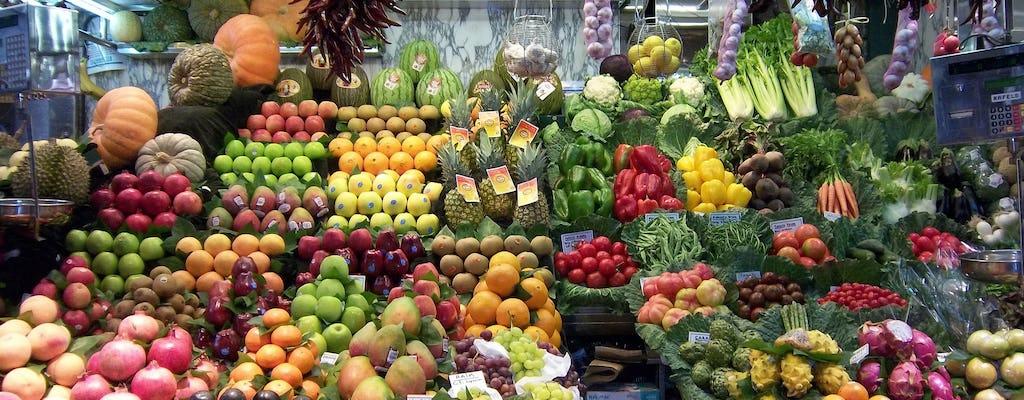 Tour del pranzo di tapas del mercato a Barcellona