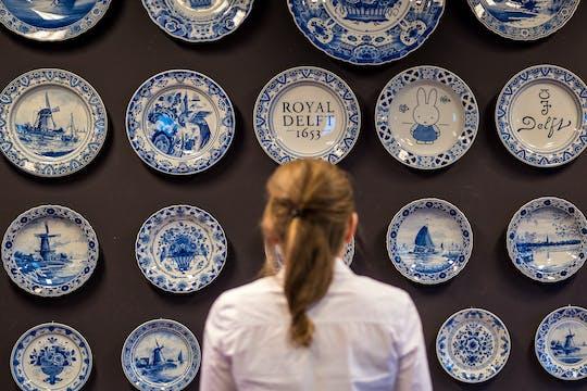 Royal Delft entrance ticket