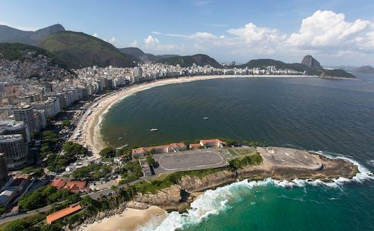 Excursão pela costa do Rio com pão de açúcar e praia de Copacabana