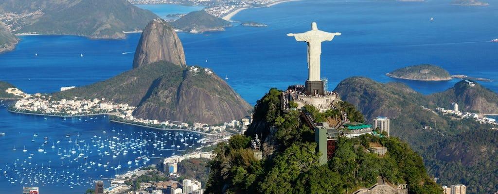 Wycieczka do Rio Shore z Chrystusem Odkupicielem van, Sugarloaf, Maracana, Sambadrome, Selaron i lunch