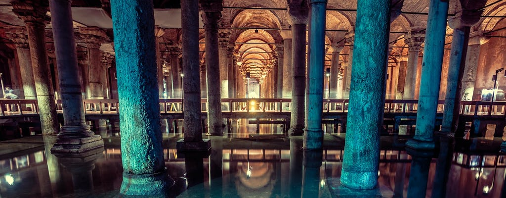 Skip the line ticket and guided tour to the Basilica Cistern in Istanbul