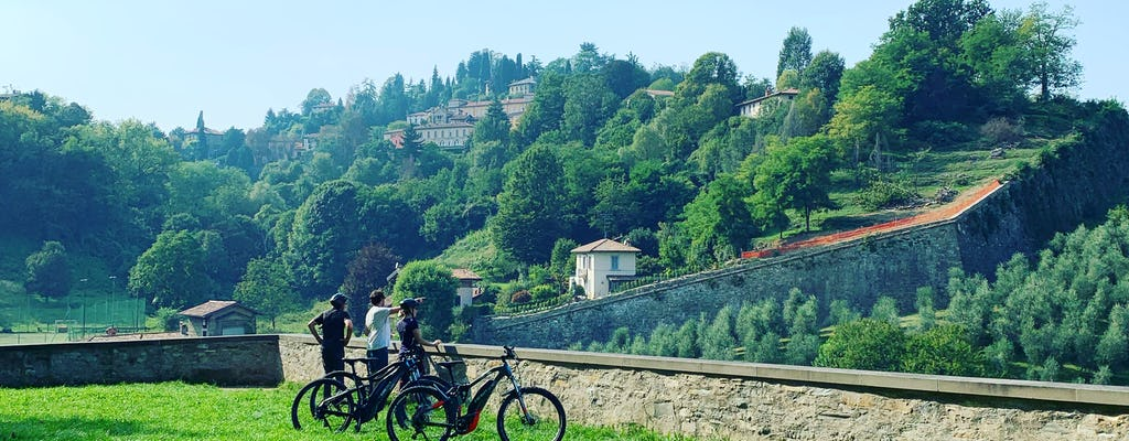 Tour in bici elettrica di Bergamo