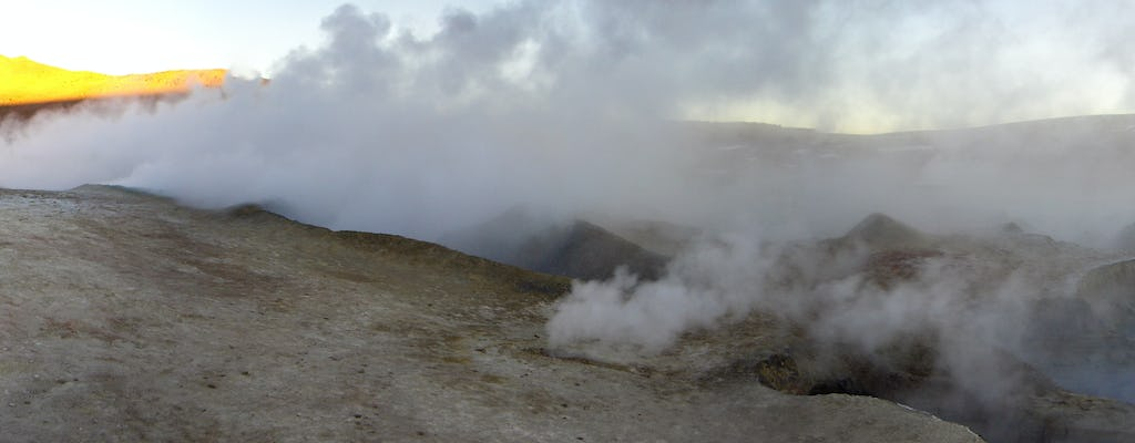 Tour géiser el Tatio y Machuca