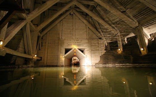 Zwiedzanie kopalni soli w Wieliczce z przewodnikiem
