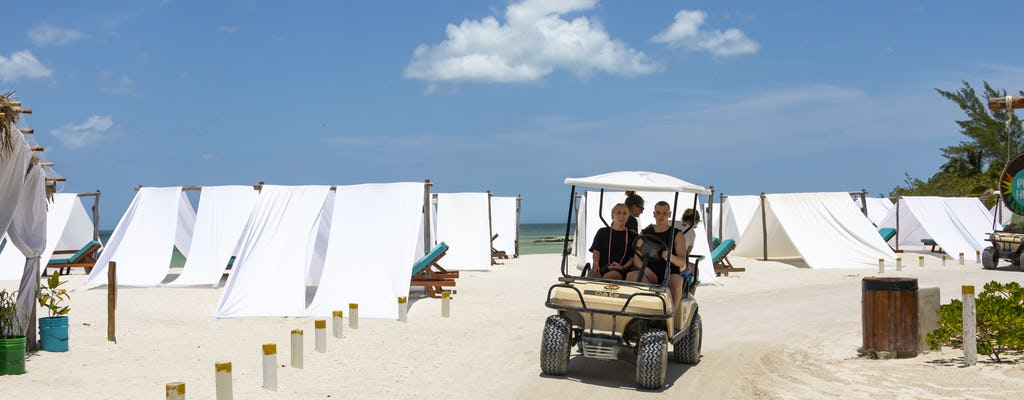 Insel Holbox Boots- und Buggy Tour