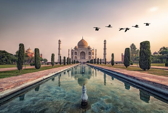 Taj Mahal and Agra Fort day-trip by train from Delhi