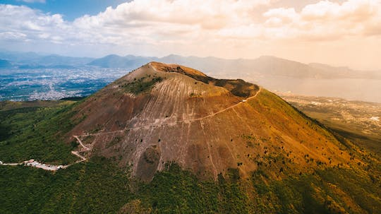 Full-day Mount Vesuvius excursion