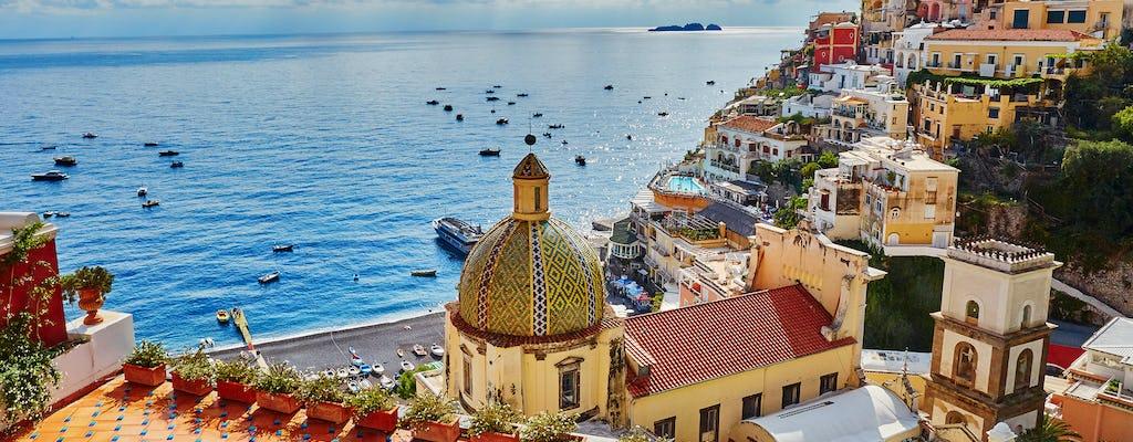 Visite de Positano, Amalfi et Ravello