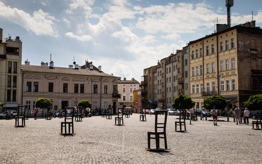 Recorrido a pie por el barrio judío de Kazimierz