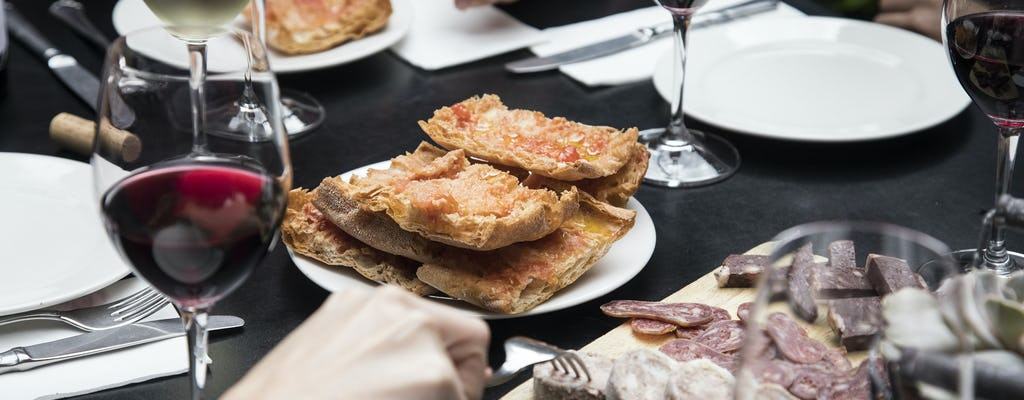 Tour de vinos y tapas de Barcelona